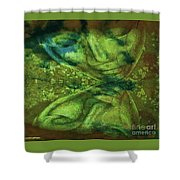 The Sage Shower Curtain