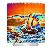 The Sail Shower Curtain