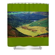 The Sally Gap Wicklow Shower Curtain
