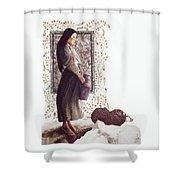 The Samaritan Woman - Lgtsw Shower Curtain