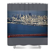 The San Francisco Zoo Shower Curtain