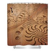 The Sand Man Shower Curtain