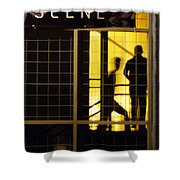 The Scene San Antonio Shower Curtain