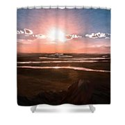 The Scenery - Id 16235-142805-2743 Shower Curtain