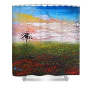 The Scented Sky Shower Curtain