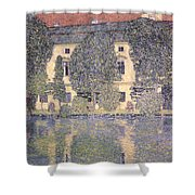 The Schloss Kammer On The Attersee IIi Shower Curtain