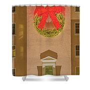 The Scintillating Wreath   Shower Curtain