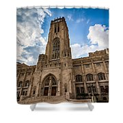 The Scottish Rite Cathedral - Indianapolis Shower Curtain