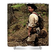 The Scout3 Shower Curtain