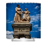 The Sculpture Agriculture Shower Curtain