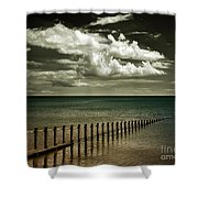 The Sea Shower Curtain