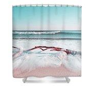 The Sea Green Ocean Fine Art Print Shower Curtain