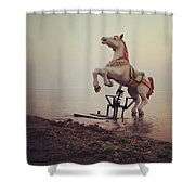 The Sea Horse Shower Curtain