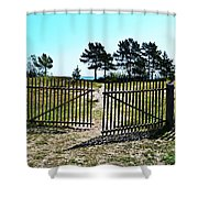 The Sea Is Yours Shower Curtain