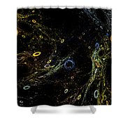 The Sea Of Holes Shower Curtain