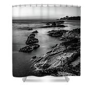 The Sea Serpent Shower Curtain