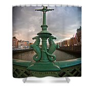 The Seahorses  Shower Curtain