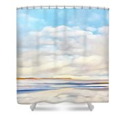The Seaside Shower Curtain