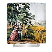 The Season Of Love Shower Curtain
