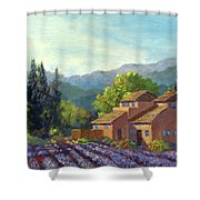 the Season Provence Shower Curtain