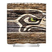 The Seattle Seahawks 2f Shower Curtain