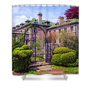 The Seaward Side Shower Curtain
