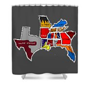 The Sec South Eastern Conference Teams Shower Curtain