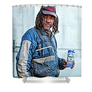 The Second Most Interesting Man In The World  Shower Curtain