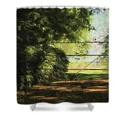 The Secret Gate Shower Curtain