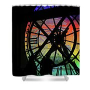 The Secret Workings Of Time Shower Curtain