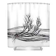 The Seed Shower Curtain