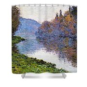 The Seine At Jenfosse Shower Curtain