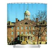 The Seminary  Shower Curtain