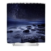 The Sense Of Existence Shower Curtain