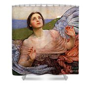 The Sense Of Sight By Annie Swynnerton  Shower Curtain