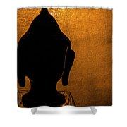 The Serene Buddha  Shower Curtain