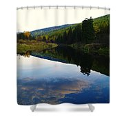 The Serenity Of The Moyie  Shower Curtain