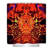 The Serpents Head Shower Curtain