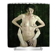 The Servant's Song  Shower Curtain