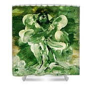 The Seven Deadly Sins- Envy Shower Curtain