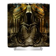 The Seven Monks Of  Tarthyohr  Shower Curtain
