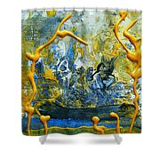 The Seven Sins- Greed Shower Curtain