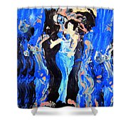 The Seven Sins- Lust Shower Curtain
