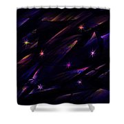 The Seven Stars Shower Curtain