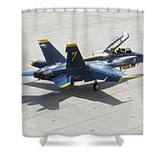 The Seventh Angel Shower Curtain