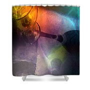 The Shadow Of Your Smile Shower Curtain
