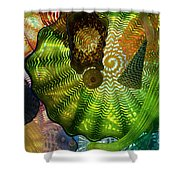 The Shape Of Color 4 Shower Curtain