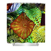 The Shape Of Color 5 Shower Curtain