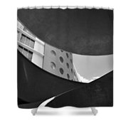 The Shape Of Modern Architecture  Shower Curtain