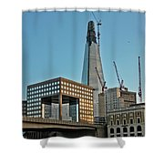 The Shard London Bridge Shower Curtain